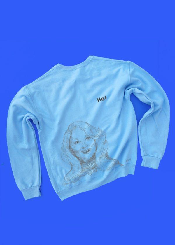 Death Becomes Her - Hel COLORED sweatshirt