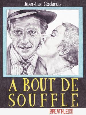 A Bout De Souffle movie poster