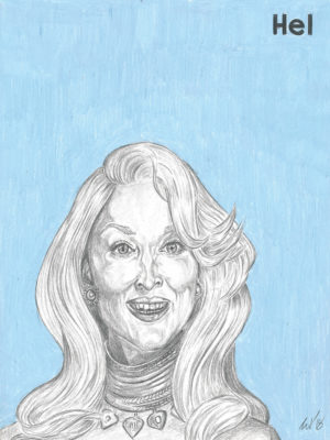 Death Becomes Her movie print