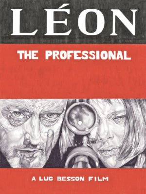 Leon The Professional movie poster