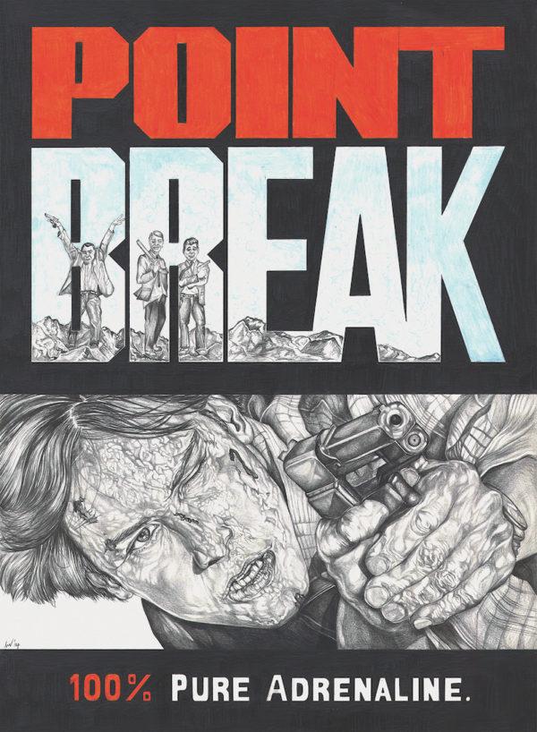 Point Break movie poster