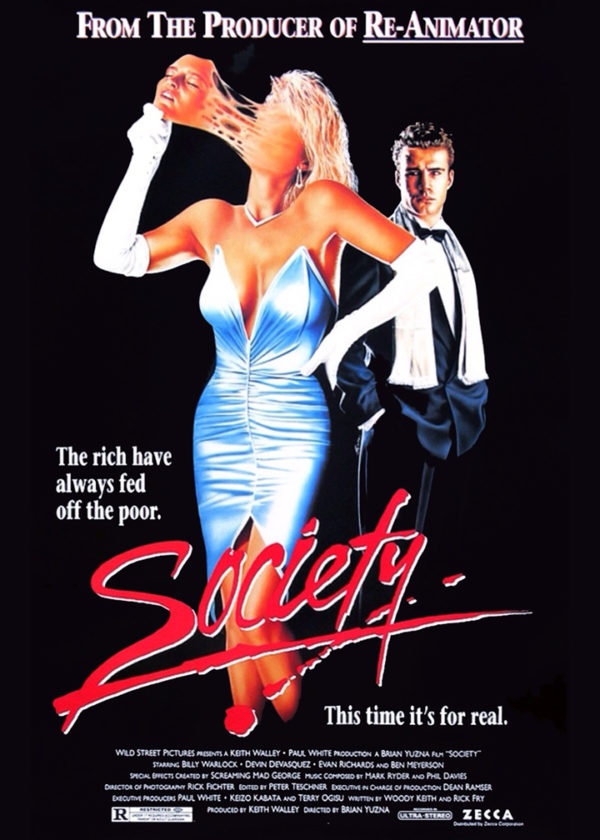 Society movie screening