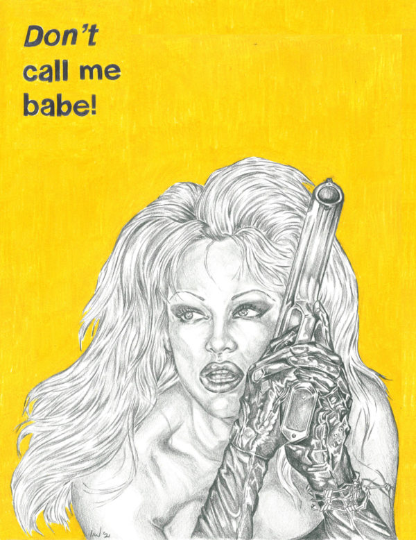 barb wire tee